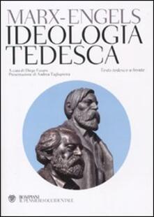 Ideologia tedesca. Testo tedesco a fronte.pdf