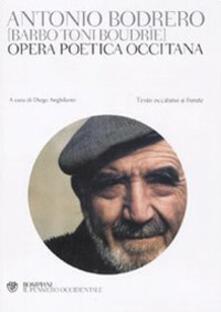 Antondemarirreguera.es Opera poetica occitana. Testo occitano a fronte Image