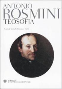 Teosofia - Antonio Rosmini - copertina