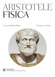 Libro La fisica. Testo greco a fronte Aristotele