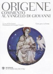 Libro Commento al Vangelo di Giovanni. Testo greco a fronte Origene