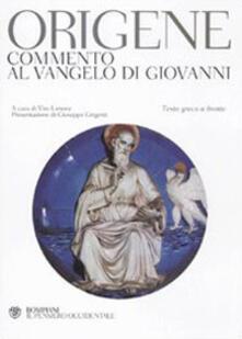 Promoartpalermo.it Commento al Vangelo di Giovanni. Testo greco a fronte Image