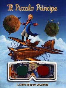 Squillogame.it Il Piccolo Principe. Il libro in 3D da colorare. Ediz. illustrata Image