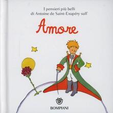 Nordestcaffeisola.it Il Piccolo Principe. Amore. Ediz. illustrata Image