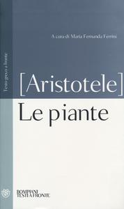 Libro Le piante. Testo greco a fronte Aristotele