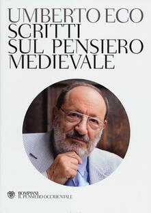 Scritti sul pensiero medievale - Umberto Eco - copertina