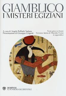 Parcoarenas.it I misteri egiziani. Testo greco a fronte Image
