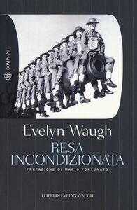 Libro Resa incondizionata Evelyn Waugh