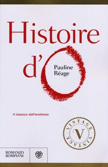 Histoire d'O - Pauline Réage - copertina