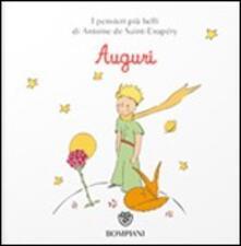 Amatigota.it Il Piccolo Principe. Auguri. Ediz. illustrata Image
