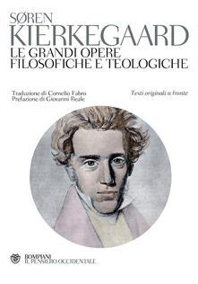 Lpgcsostenible.es Le grandi opere filosofiche e teologiche. Testo originale a fronte Image