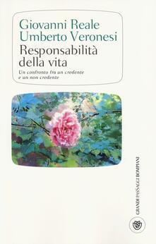 Writersfactory.it Responsabilità della vita. Un confronto fra un credente e un non credente Image