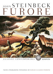 Furore - John Steinbeck - copertina