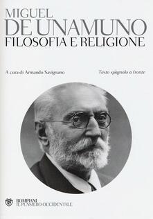 Squillogame.it Filosofia e religione. Testo spagnolo a fronte Image