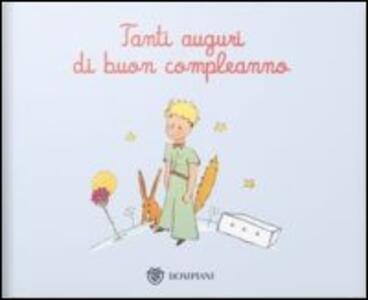 Il Piccolo Principe Tanti Auguri Di Buon Compleanno Ediz
