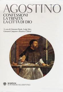 Rallydeicolliscaligeri.it Confessioni-La trinità-La città di Dio. Testo latino a fronte Image