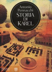 Storia di Karel - Antonio Pennacchi - copertina