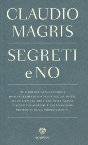 Libro Segreti e no Claudio Magris