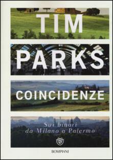 Coincidenze. Sui binari da Milano a Palermo - Tim Parks - copertina