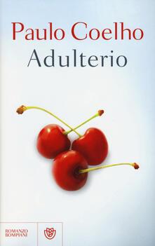 Adulterio - Paulo Coelho - copertina