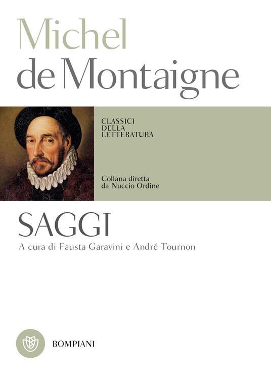Saggi - Michel de Montaigne - copertina
