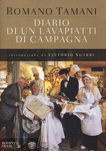 Libro Diario di un lavapiatti di campagna Romano Tamani