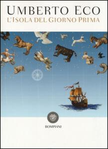 Foto Cover di L' isola del giorno prima, Libro di Umberto Eco, edito da Bompiani 0