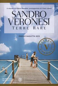 Terre rare - Sandro Veronesi - copertina
