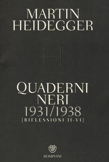 Winniearcher.com Quaderni neri 1931-1938. Riflessioni II-VI Image