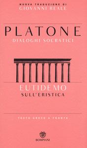 Libro Eutidemosull'eristica. Testo greco a fronte Platone