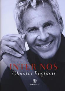 Inter nos - Claudio Baglioni - copertina