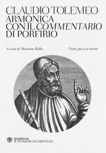 Armonica con il Commentario di Porfirio. Testo greco a fronte