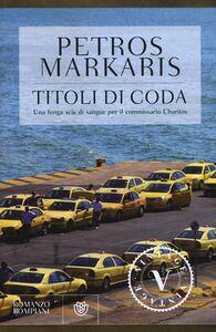 Libro Titoli di coda Petros Markaris