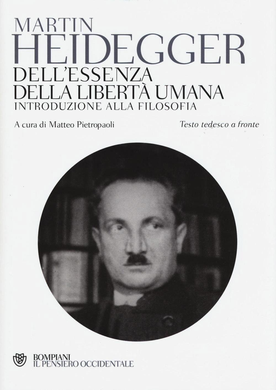 Image of Dell'essenza della libertà umana. Introduzione alla filosofia. Testo tedesco a fronte