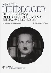 Dellessenza della libertà umana. Introduzione alla filosofia. Testo tedesco a fronte.pdf