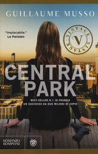 Libro Central Park Guillaume Musso
