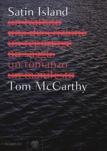 Satin Island - Tom McCarthy - copertina