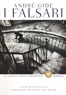 I falsari - André Gide - copertina