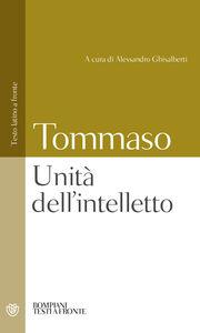 Libro Unità dell'intelletto d'Aquino (san) Tommaso