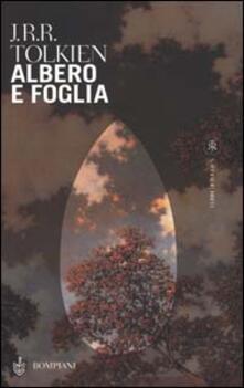 Albero e foglia - John R. R. Tolkien - copertina