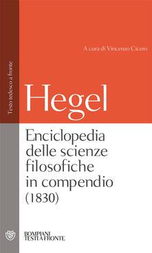 Steamcon.it Enciclopedia delle scienze filosofiche. Testo tedesco a fronte. Ediz. integrale Image