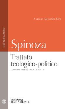 Equilibrifestival.it Trattato teologico-politico. Testo latino a fronte Image