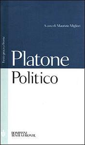 Libro Politico. Testo greco a fronte Platone