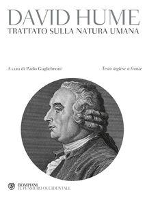 Foto Cover di Trattato della natura umana. Testo inglese a fronte, Libro di David Hume, edito da Bompiani
