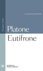 Libro Eutifrone. Testo greco a fronte Platone