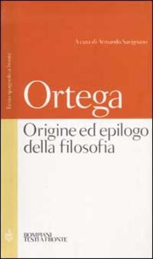 Camfeed.it Origine ed epilogo della filosofia e altri scritti. Testo spagnolo a fronte Image