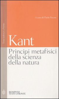 Image of Principi metafisici della scienza della natura. Testo tedesco a fronte
