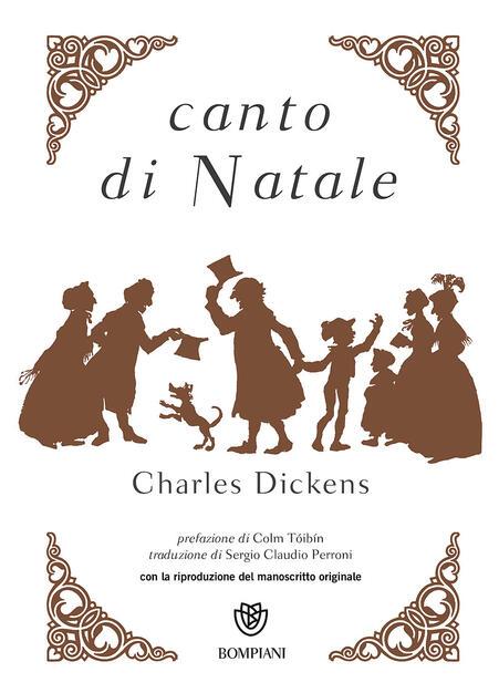Regali Di Natale Traduzione Inglese.Canto Di Natale Charles Dickens Libro Bompiani Narrativa