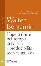 Libro L' opera d'arte nel tempo della sua riproducibilità tecnica (1935-36). Testo tedesco a fronte Walter Benjamin