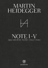 Libro Quaderni neri 1942-1948. Note I-V Martin Heidegger